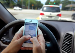 Texting and Driving causes Car accidents