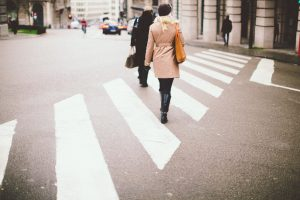 Crosswalks can help you avoid being injured in a pedestrian accident
